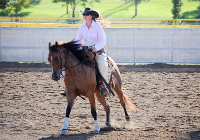 Ladies' Wyoming State Fair Ranch Horse Competition