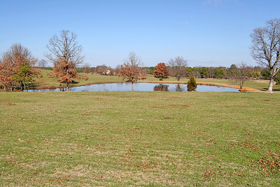 Pond behind Main Ranch House.