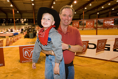 Boys and Girls Clubs At the Bergeron Bull Riding Rodeo