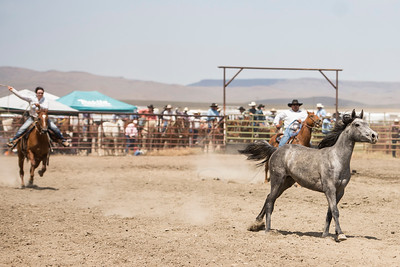 2013 McDermitt Horse Roping