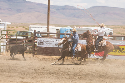 2013 McDermitt Ranch Rodeo Team Roping