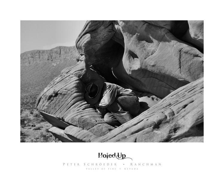 Holed Up - Ranchman Collection by Peter Schroeder - Valley of Fire - Nevada