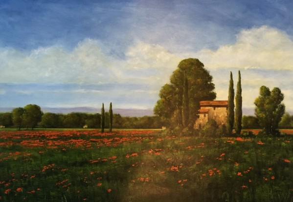 Landscape-Berry, 34x24 paper