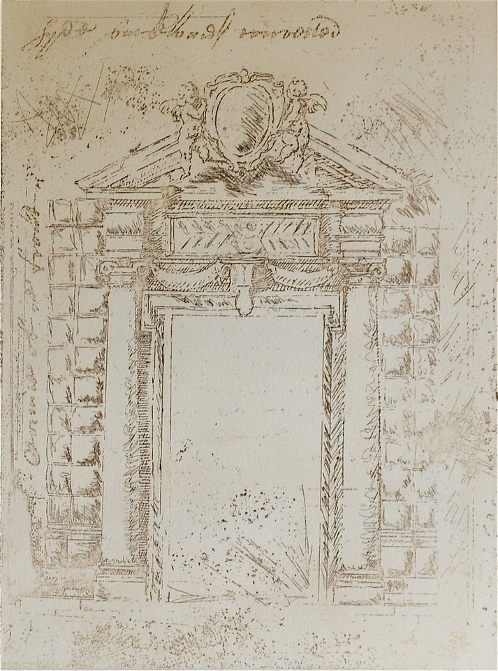 Arch I-Augustine, 12x16 etching on paper JPG