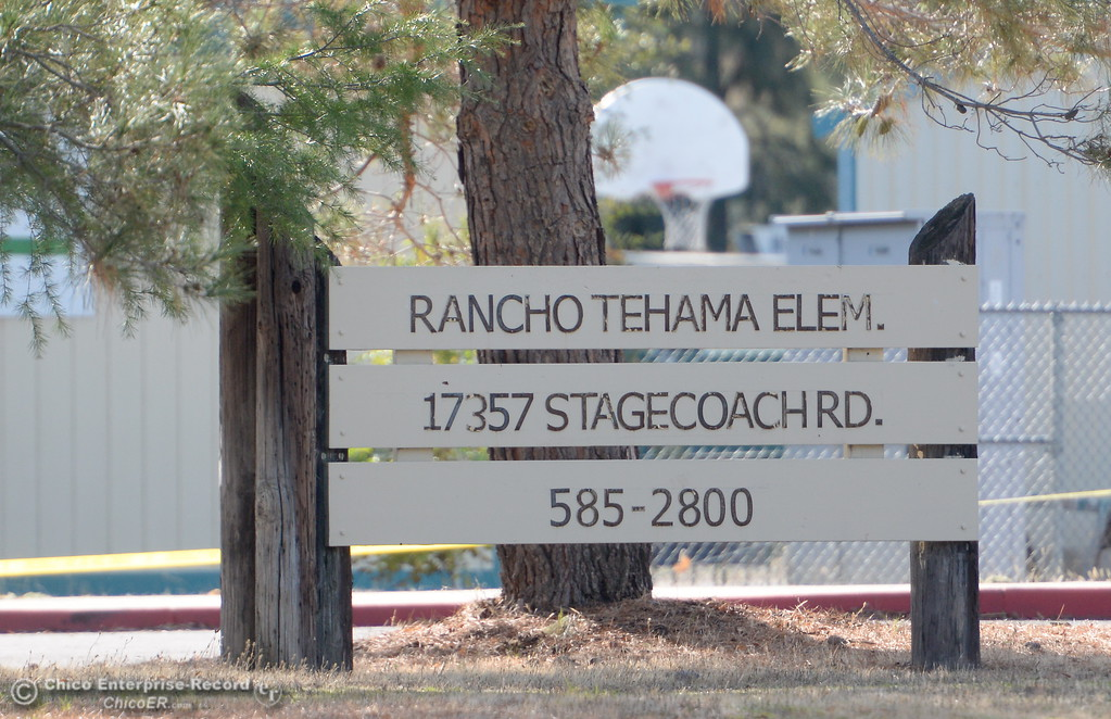 . Rancho Tehama Elementary School is seen following several shootings in the Northern California community Tues. Nov. 14, 2017.  (Bill Husa -- Enterprise-Record)
