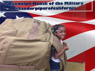 Randolph  month of the military child