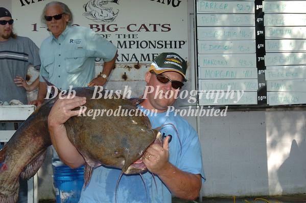Randolphs Landing National  Catfish Tournament - Sept 22-23, 2007 Santee Cooper Lakes