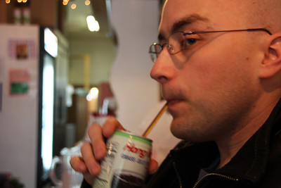 Yeah, I like green jelly drink. The stuff rocks!