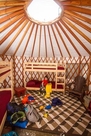 2017-03 Engadine Yurt