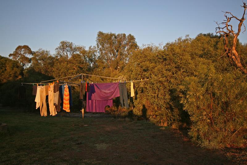 Trusty washing line
