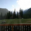 <b>31 July 2010</b> The view from our room at Bugaboos CMH Lodge
