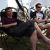 <b>24 July 2010</b> Jori falling asleep in the overly comfortable camp chairs