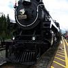 <b>2 July 2010</b> Steam train in Banff
