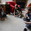 <b>3 Oct 2010</b> Bananagrams: Jackie and Brendan battle after Alex and I manage to eliminate ourselves