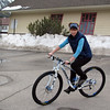 <b>14 Mar 2011</b> Testing out the new bike