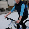 <b>14 Mar 2011</b> Megan on the fancy new bike