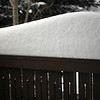 <b>14 Jan 2011</b> Our railing snow pile starts to reach ridiculous heights