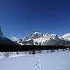 <b>6 Mar 2011</b>   Out for a walk up to Quarry Lake - Mount Rundle