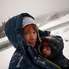 <b>4.5 months</b> Out walking in the snow