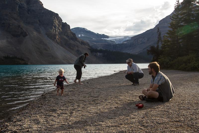 <b>8 September 2012</b> Bow Lake shenanigans