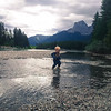 <b>3 September 2012</b> Playing in the Bow River puddle