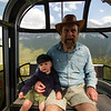 <b>28 August 2012</b> Sulphur Mountain gondola ride with Zaida