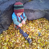 <b>1 October 2013</b> Playing in the leaves