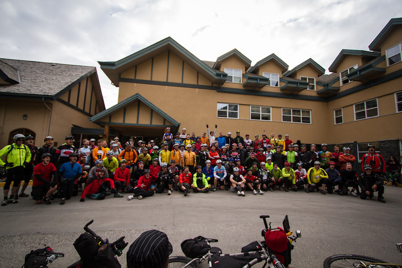 <b>14 June 2013</b> The massive 2013 Tour Divide Grand Depart