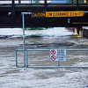 <b>21 June 2013</b> Bow River under the Bridge Road bridge - levels already on their way down.