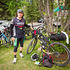 <b>14 June 2013</b> Karlos, about to head out on the Tour Divide