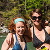 <b>16 June 2013</b> Lussier Hot Springs - Megan & Zara