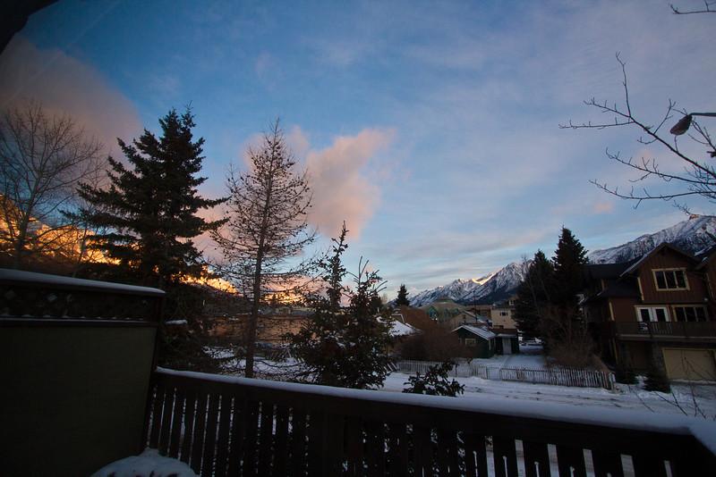<b>Jan 2012</b>  Canmore views