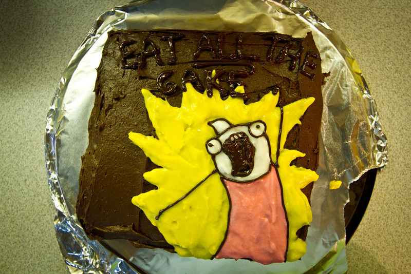 <b>Jan 2012</b>  Alex birthday cake (EAT ALL THE CAKE)