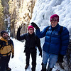 <b>1 Jan 2012</b>  Hiking up Grotto Canyon