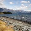Lake Wakatipu from Queenstown Gardens