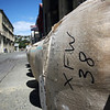 Wool bales down the streets of Oamaru