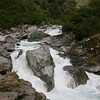 Roaring river as we drive through Haast Pass