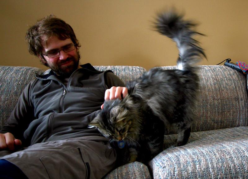 Alex steals a kitty