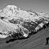 Hiking up to the south slope of Unicorn Peak.   There will be a few photos of Rainier.