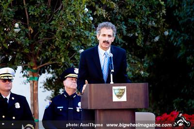 911 Memorial - at Beverly Hills Fire Station - Beverly Hills, CA - September 11, 2011