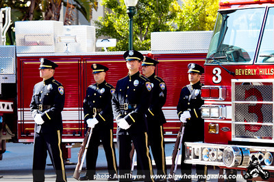 911 Memorial - at Beverly Hills Fire Station - Beverly Hills, CA - September 11, 2011
