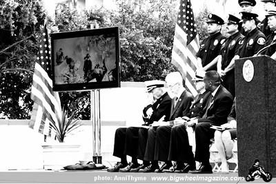 911 Memorial - at LAFD Frank Hotchkin Memorial Training Center - Los Angeles, CA - September 11, 2011