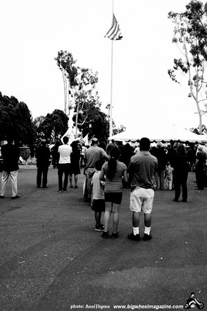 911 Memorial - at LAFD Frank Hotchkin Memorial Training Center - Los Angeles, CA - September 11, 2011