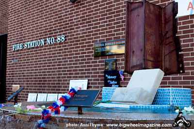 911 Memorial - at Fire Station 88 - Sherman Oaks, CA - September 11, 2011
