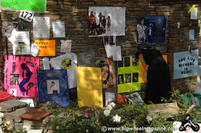 Neverland Ranch - after Michael Jackson's death - Los Olivos, CA - July 11, 2009