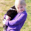 November 18 - Who can resist a puppy and a precious little girl?