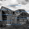 Wind Damaged Barn, near Oakesdale