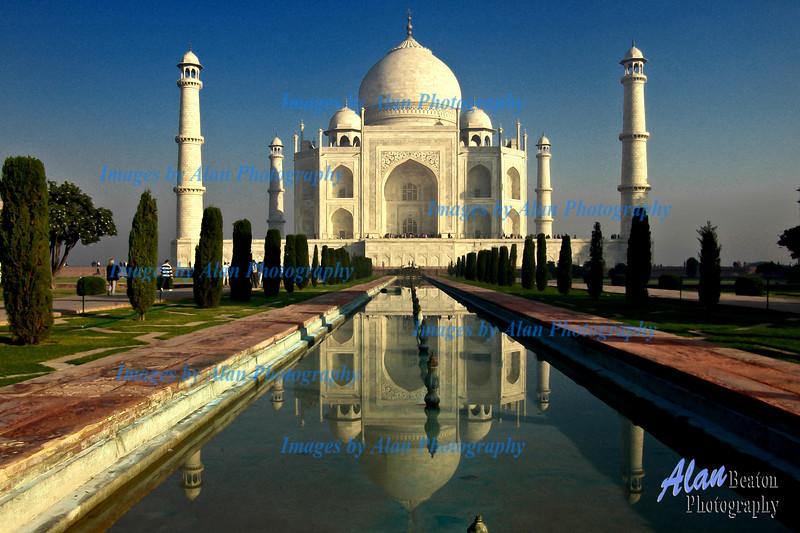 Evening Light at the Taj Mahal