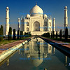 Evening Light at the Taj Mahal