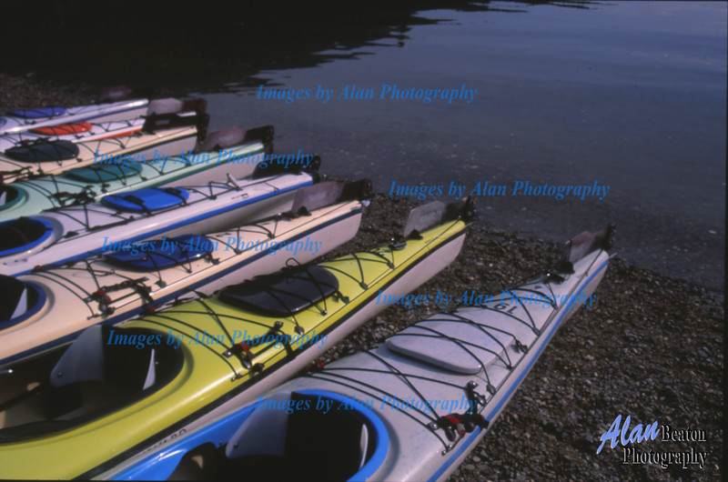 Kayaks; Ready to Sail